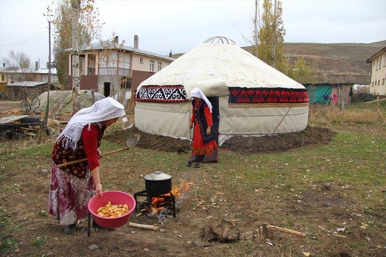 Diriliş Ertuğruldaki yaşam Ulupamir'de