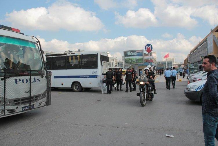 İstanbul Otogarı'nda kavga!
