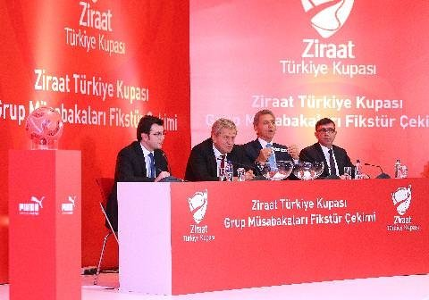 İşte Ziraat Türkiye Kupası fikstürü