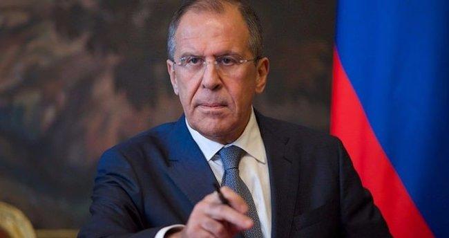 Sergey Lavrov'dan askeri üs açıklaması