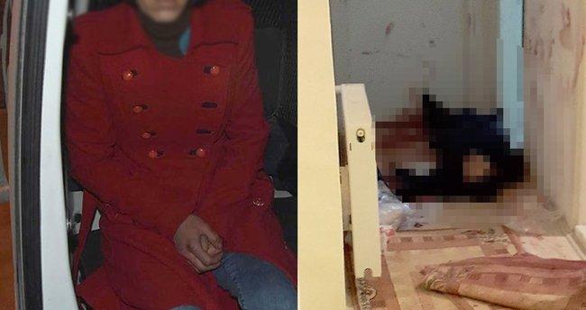 Evde, şüphe çeken 'gizli ilişki' cinayeti