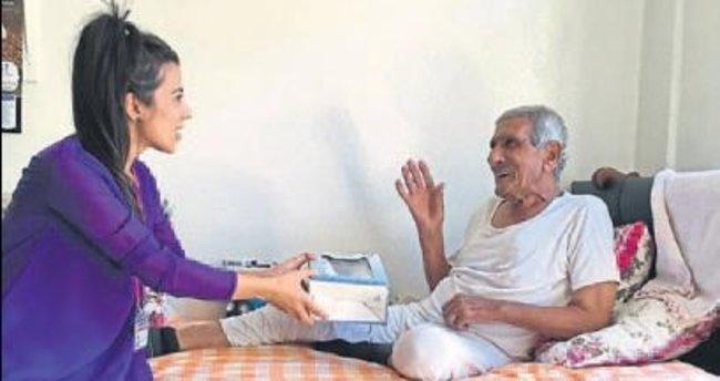 Şahinbey Belediyesi yaşlıları unutmuyor