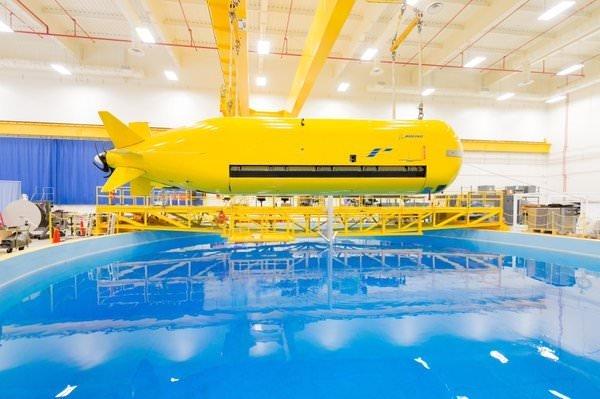 Boeing'in, insansız denizaltısı görücüye çıktı