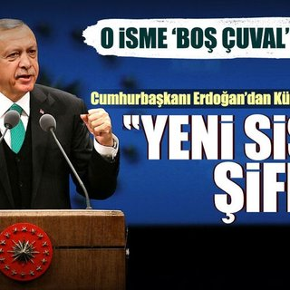 Cumhurbaşkanı Erdoğan: Yeni sistemin şifresi...