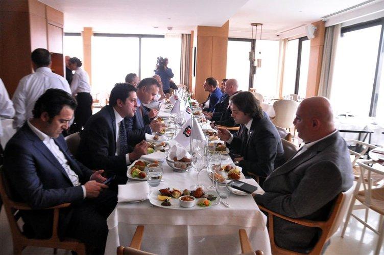 Fikret Orman ve Lucescu yemekte buluştu