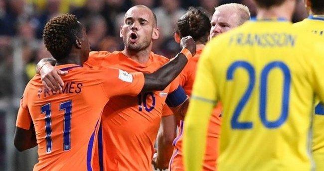 İsveç ile Hollanda yenişemedi