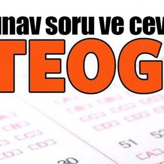 TEOG soru ve cevapları 2017 bu sayfada! - TEOG sınav sorularını bu adreste bulabilirsiniz