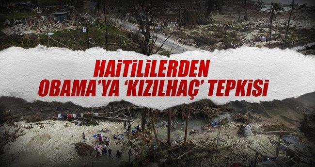 Haiti'den Kızılhaç tepkisi