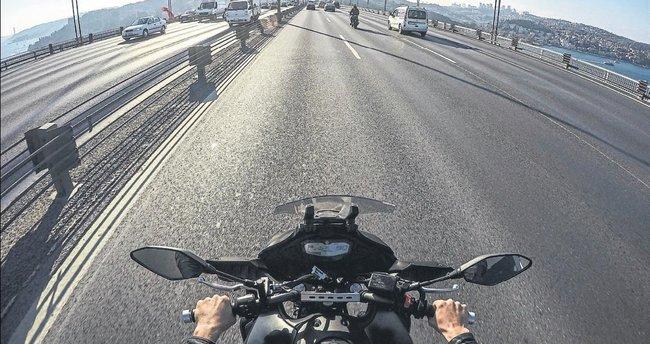 12 saatte motosikletle İstanbul keyfi