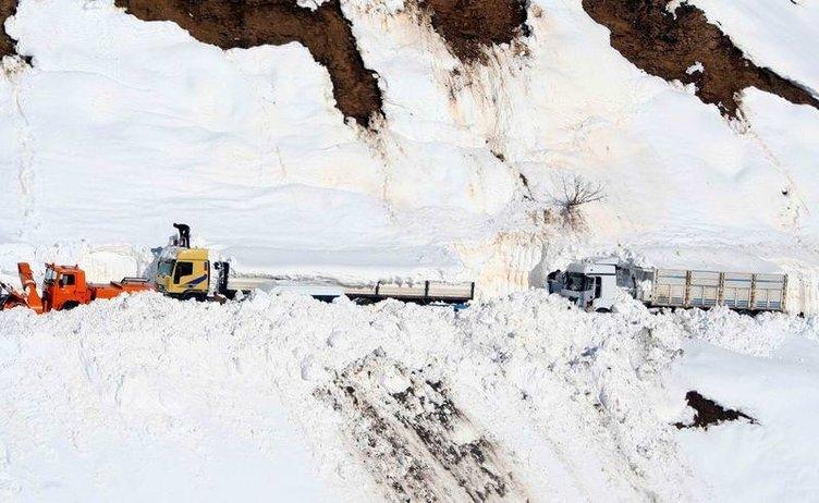 Yurdun dört bir yanından kar manzaraları