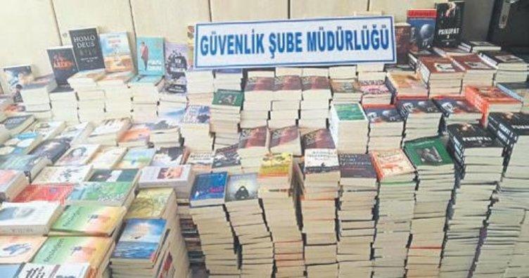 Mersin'de korsan kitap operasyonu