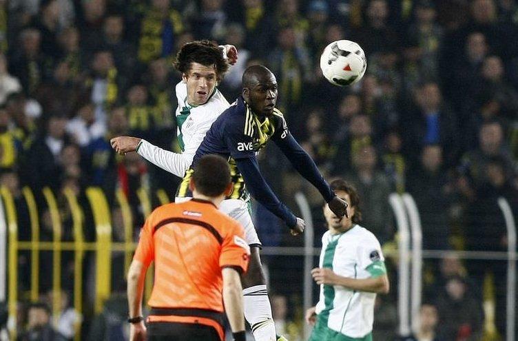 Fenerbahçe - Bursaspor maçının fotoğrafları