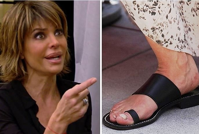 Ayaklarına özen göstermeyen ünlüler