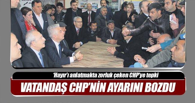 Vatandaş, CHP'nin ayarını bozdu
