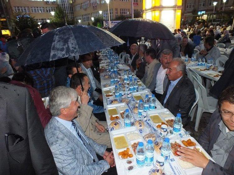 Türkiye'den ilk iftar manzaraları