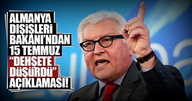 Almanya'dan Türkiye'ye destek açıklaması