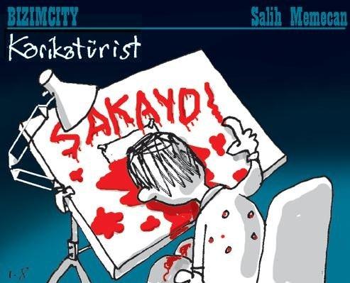 Karikatüristler Paris'teki kanlı saldırıya tepki gösterdi