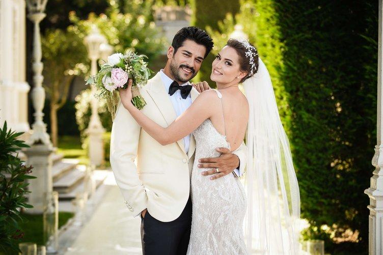 Fahriye Evcen ile Burak Özçivit'in düğün detayları