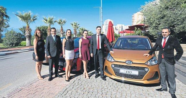 Yeni model Antalya yollarında