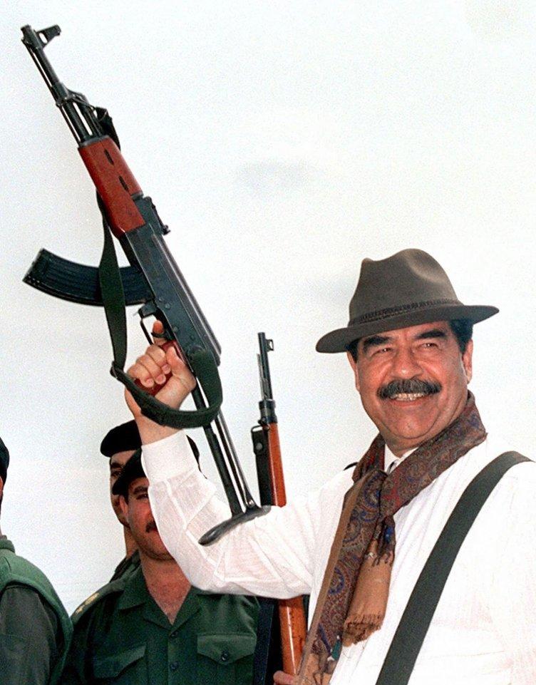 Saddam Hüseyin resim galerisi