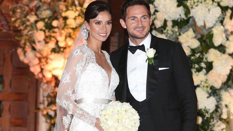Futbolcu Frank Lampard düğün gecesini anlattı
