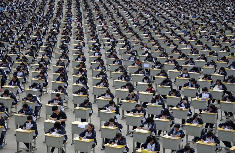 Çin'in önlenemez nüfus artışının kanıtı 20 fotoğraf