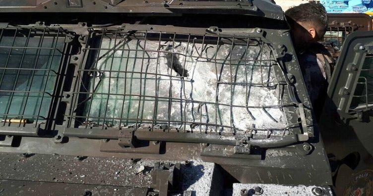 SON DAKİKA: Diyarbakır'da polis aracına roketatarlı saldırı!