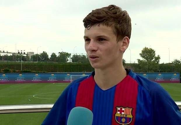 Barcelona'nın 16 yaşındaki yıldız adayıyla tanışın!