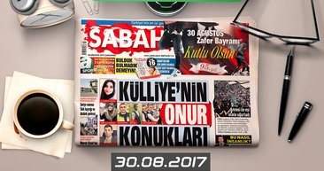 Sabah Gazetesi Yazarları bugün ne yazdı? (30.08.2017)