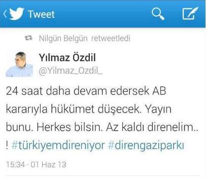 Gezi'nin Efsaneleşmiş Yalanları