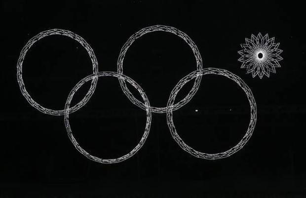 2014 Kış Olimpiyatları için Soçi'de muhteşem açılış töreni