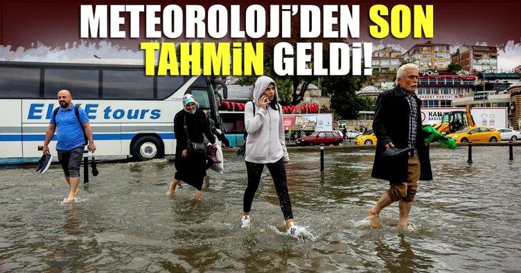 Son dakika! Meteoroloji'den İstanbul için yeni uyarı