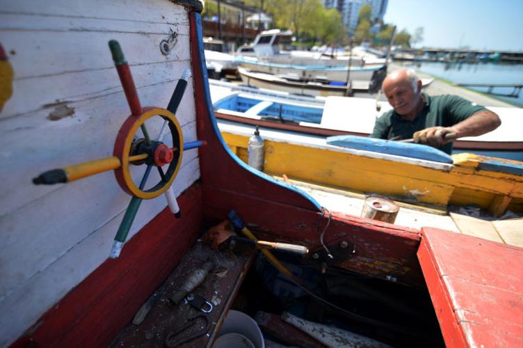 Balıkçıların sezon hazırlığı