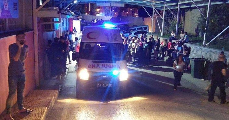 Manisa'da 500'den fazla asker hastanelere kaldırıldı