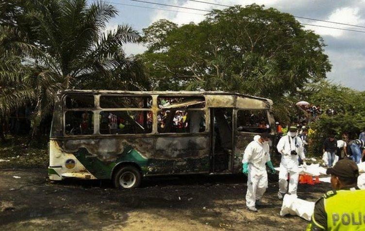 32 çocuk yanarak can verdi