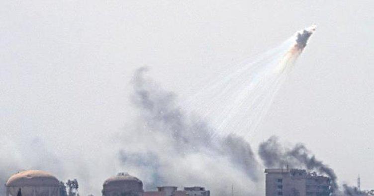 Musul'da Eski Şehir yanıyor