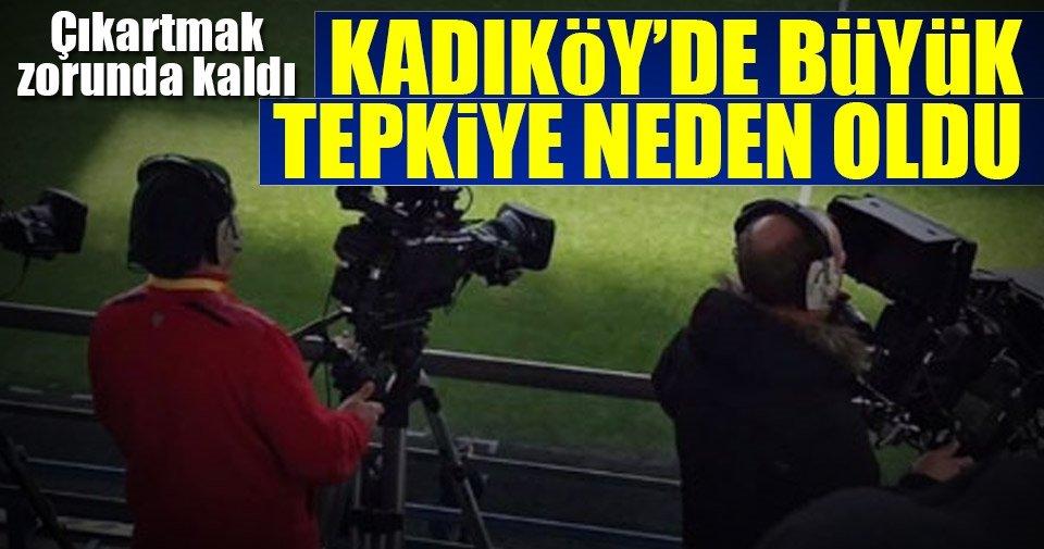Kadıköy'de kazak rengi tepkiye neden oldu