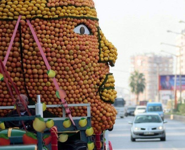 Türkiye'de narenciye festivali heyecanı