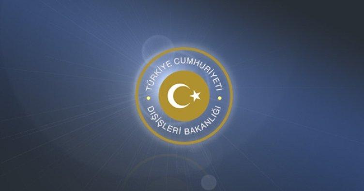 Türkiye'den İsrail'e kınama!