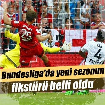 Bundesliga'da yeni sezonun fikstürü belli oldu