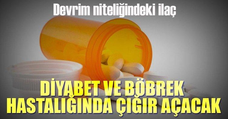 Kalp ve böbrek hastalıklarına karşı diyabet ilacı