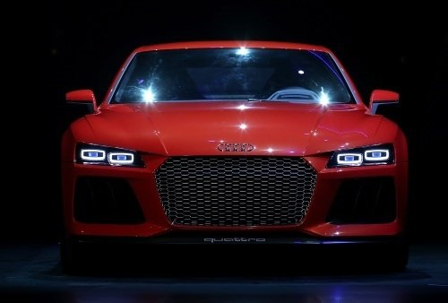 Audi'den lazer teknolojisi
