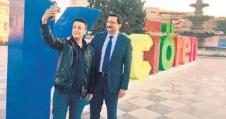 Kalaba Meydanı'na rengarenk tasarım