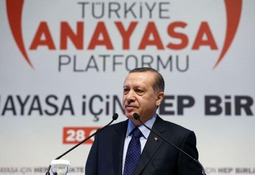 Erdoğan, Yeni anayasa için hep birlikte programında konuştu