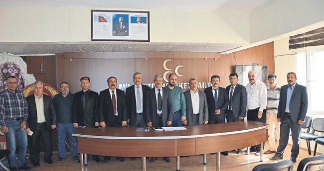 MHP Korkuteli yönetimini açıkladı