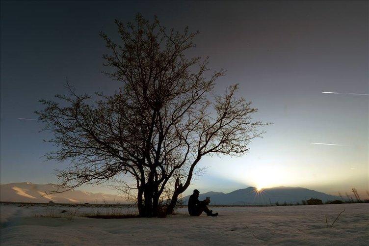 Van'da kış ile gelen güzellik