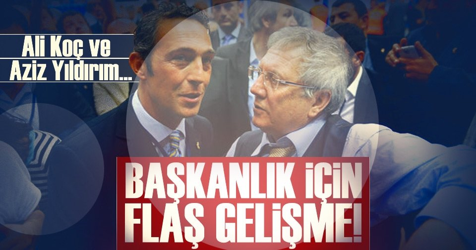 Fenerbahçe kulislerinde yeni iddia! Aziz Yıldırım ve Ali Koç...