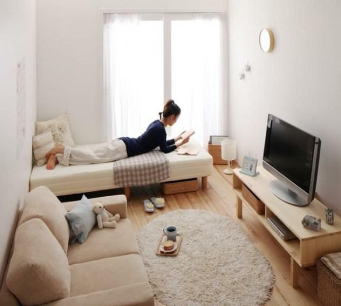 Küçük odalar için 22 harika dekorasyon önerisi