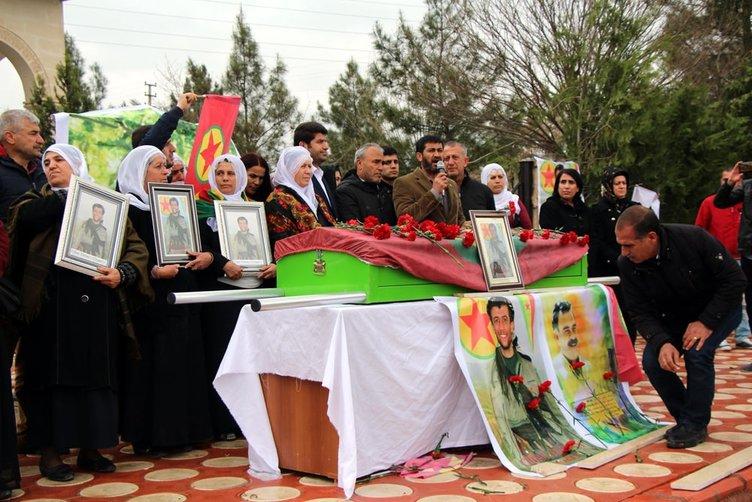 HDP'li vekiller yine terörist cenazesinde!
