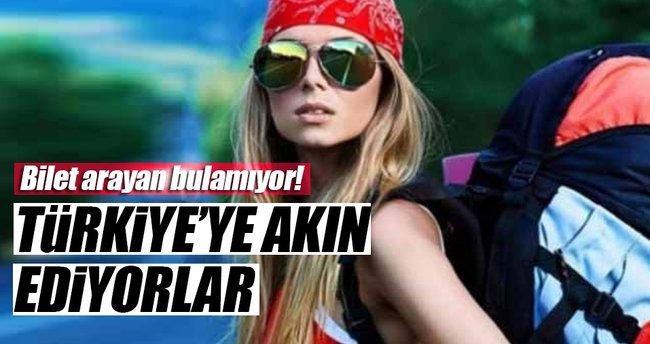 Rus turistlerden Türkiye'ye büyük talep